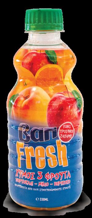 Χυμός 3 Φρούτα